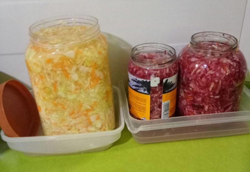 Рецепт квашенной капусты от Пономаревой Марины